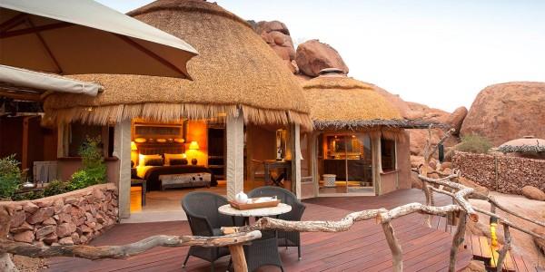 Namibia - Damaraland - Camp Kipwe - Main Suite Deck
