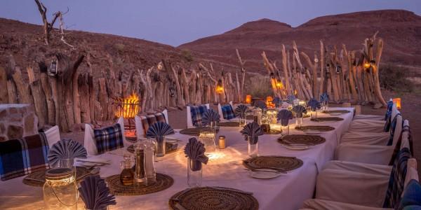 Namibia - Damaraland - Damaraland Camp - Dining