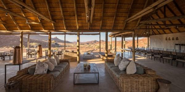 Namibia - Damaraland - Damaraland Camp - Lounge