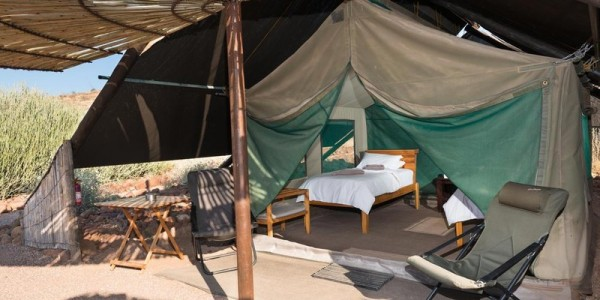 Namibia - Damaraland - Etendeka Mountain Camp - Tent