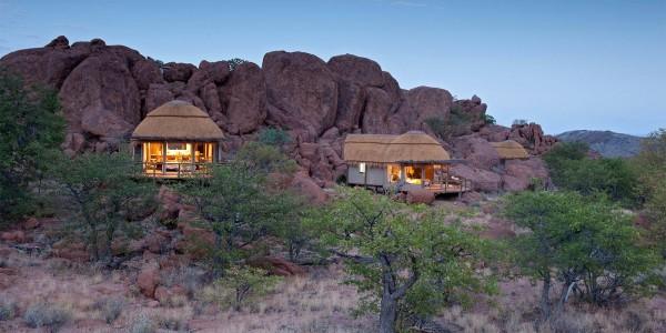 Namibia - Damaraland - Mowani Mountain Camp - Overview