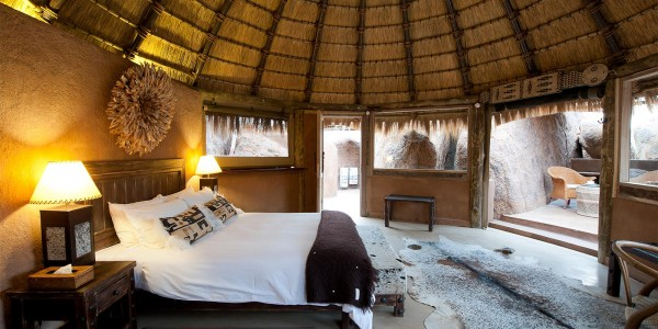 Namibia - Damaraland - Mowani Mountain Camp - Room 2