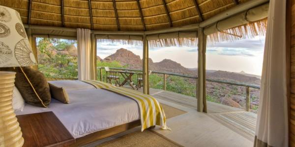 Namibia - Damaraland - Mowani Mountain Camp - Room
