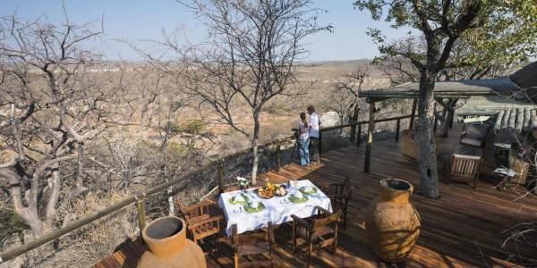 Namibia - Etosha National Park - Little Ongava - Deck