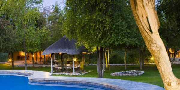 Namibia - Etosha National Park - Mushara Lodge - Pool
