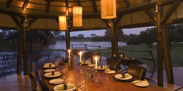 Namibia - Okonjima & The Africat Foundation - Okonjima African Villa - Dining