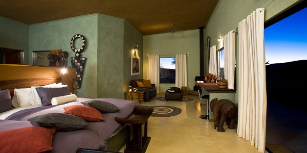 Namibia - Okonjima & The Africat Foundation - Okonjima Bush Camp - Room