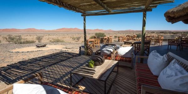 Namibia - Sossusvlei & Namib-Naukluft - Kulala Desert Lodge - Lounge