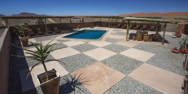 Namibia - Sossusvlei & Namib-Naukluft - Kulala Desert Lodge - Pool