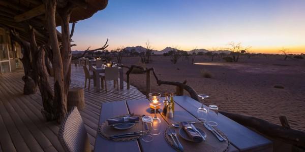 Namibia - Sossusvlei & Namib-Naukluft - Little Kulala - Dining