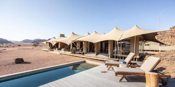 Namibia - The Skeleton Coast - Hoanib Skeleton Coast Camp - Pool