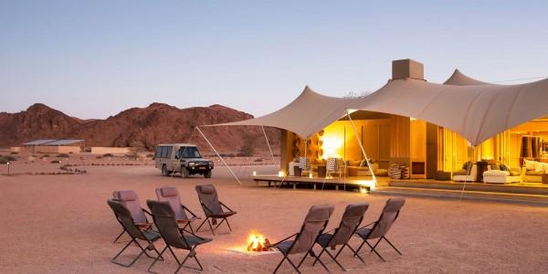 Namibia - The Skeleton Coast - Hoanib Skeleton Coast Camp - Tent