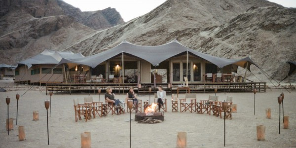 Namibia - The Skeleton Coast - Hoanib Valley Camp - Campfire