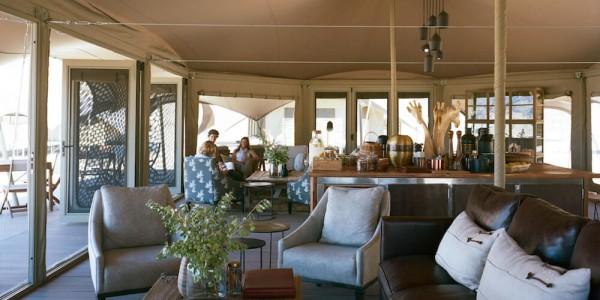 Namibia - The Skeleton Coast - Hoanib Valley Camp - Lounge