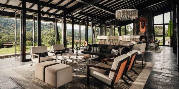 Rwanda - Nyungwe Forest National Park - One&Only Nyungwe House - Tea Lounge