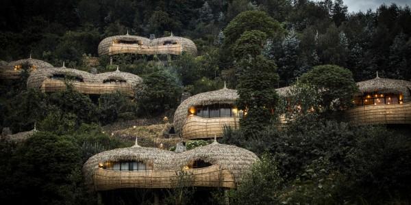 Rwanda - Parc National des Volcans - Bisate Lodge - Overview
