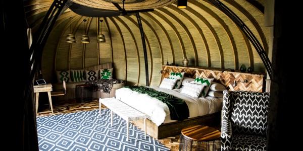 Rwanda - Parc National des Volcans - Bisate Lodge - Room