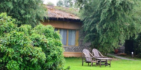Rwanda - Parc National des Volcans - Mountain Gorilla View Lodge - Outside
