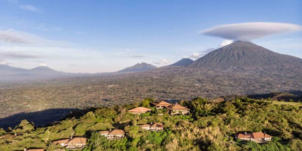 Rwanda - Parc National des Volcans - Virunga Lodge - Overview