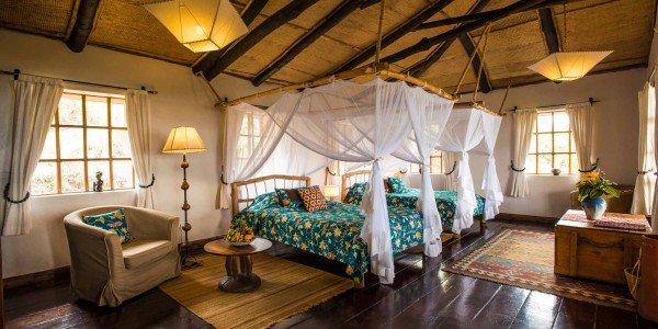 Rwanda - Parc National des Volcans - Virunga Lodge - Room