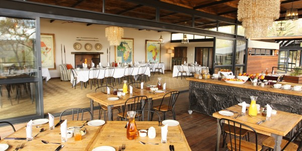 South Africa - Battlefields of the Eastern Cape & Kwazulu Natal - Fugitives Drift Lodge - Restaurant