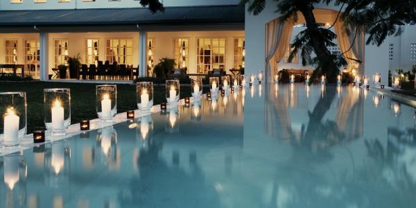 Tanzania - Dar es Salaam - The Oyster Bay Hotel - Pool