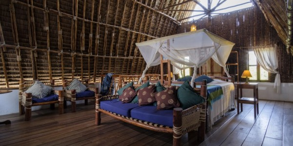 Tanzania - Mainland Coast - The Tides Lodge - Bedroom