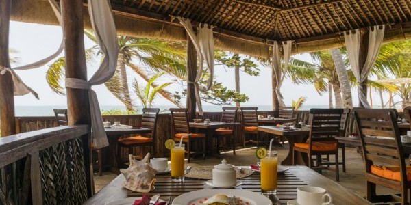 Tanzania - Mainland Coast - The Tides Lodge - Restaurant