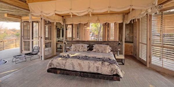 Tanzania - Ruaha National Park - Jabali Ridge - Bedroom
