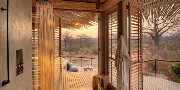 Tanzania - Ruaha National Park - Jabali Ridge - Shower