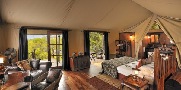 Tanzania - Serengeti National Park - Migration Camp by Elewana - Bedroom