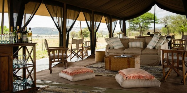Tanzania - Serengeti National Park - Nomad Serengeti Safari Camp - Lounge
