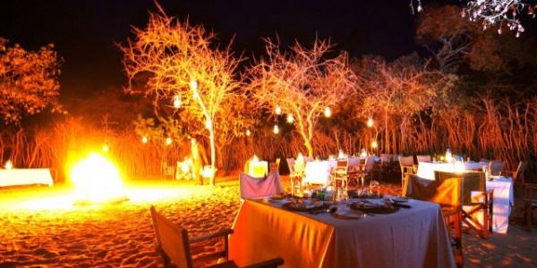 Tanzania - Tarangire National Park - Tarangire Treetops - Dinner