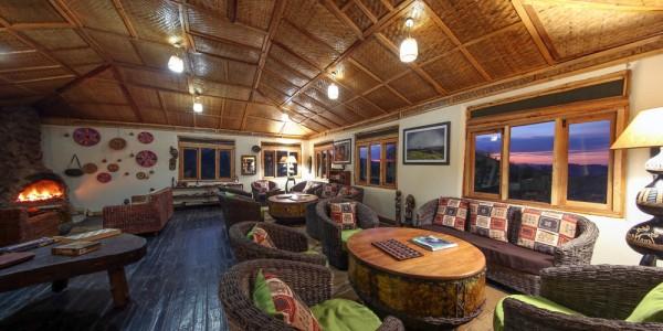Uganda - Bwindi National Park - Nkuringo Bwindi Gorilla Lodge - Inside
