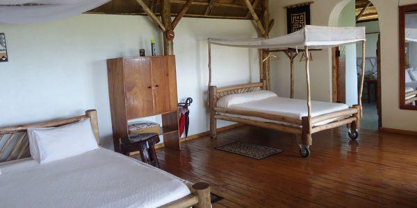 Uganda - Queen Elizabeth National Park - Katara Lodge - Room