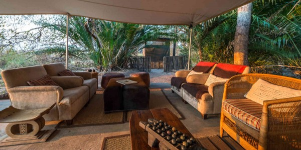Zambia - Kafue National Park - Busanga Bush Camp - Lounge