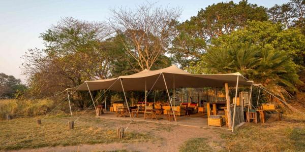 Zambia - Kafue National Park - Busanga Bush Camp - Outside