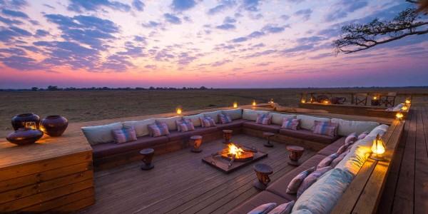Zambia - Kafue National Park - Shumba Camp - Campfire