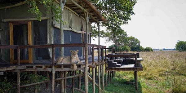 Zambia - Kafue National Park - Shumba Camp - Outside