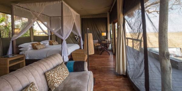 Zambia - Kafue National Park - Shumba Camp - Room