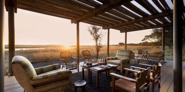 Zambia - Liuwa Plains National Park - King Lewanika Lodge - Lounge