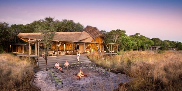 Zambia - Liuwa Plains National Park - King Lewanika Lodge - Overview