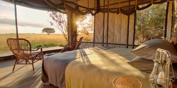 Zambia - Liuwa Plains National Park - King Lewanika Lodge - Room