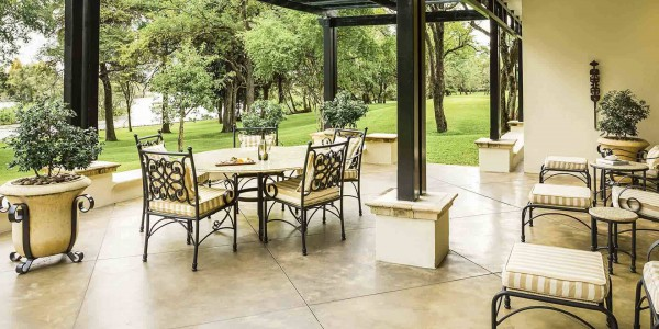 Zambia - Livingstone - Royal Livingstone Hotel - Presidential Suite