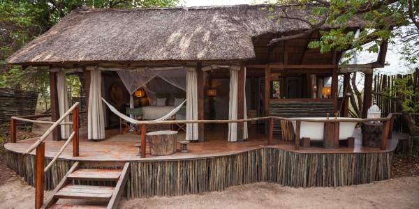 Zambia - Livingstone - Sindabezi Island - Accommodation