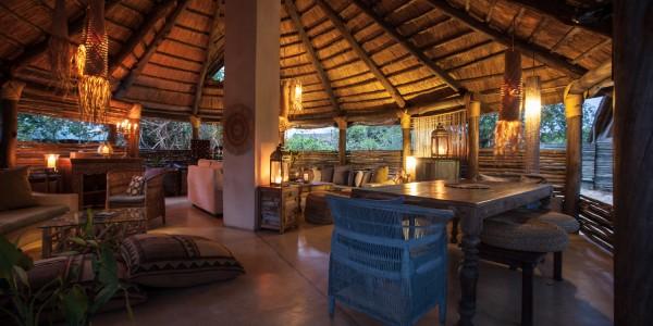 Zambia - Livingstone - Sindabezi Island - Lounge