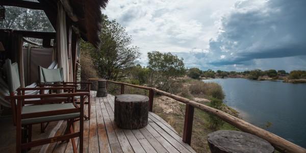 Zambia - Livingstone - Sindabezi Island - View