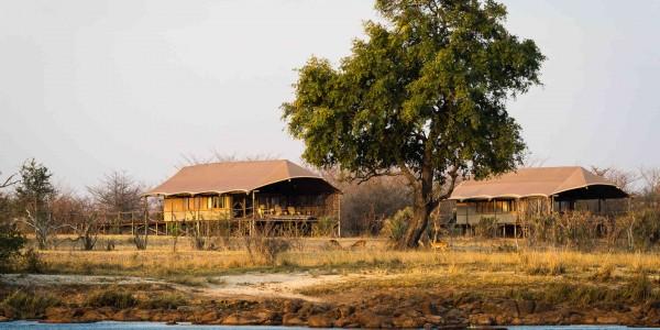 Zambia - Livingstone - Toka Leya - Camp