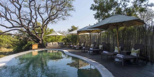 Zambia - Livingstone - Toka Leya - Pool