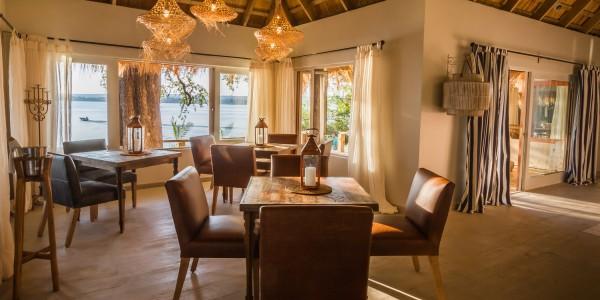 Zambia - Livingstone - Tongabezi Lodge - Dining Room